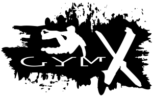 Gym-X_logo inversé_Noir_Majeur