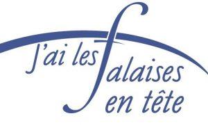 Logo falaises en tête