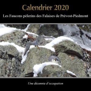 Calendrier Page couverture version falaise